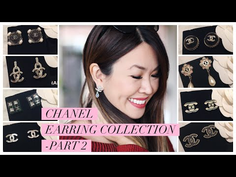 Chanel Earring Collection 2016 - Slideshow