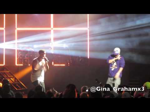 French Montana & Drake Perform