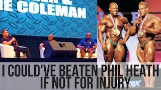 JAY CUTLER talks about his loss to PHIL HEATH and life after retirement