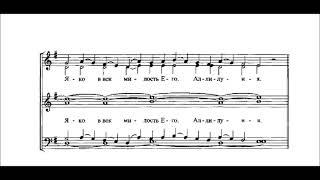 Хвалите Имя  греческого распева обраб. монахини И. Денисовой