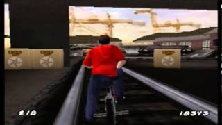 Let's Play Dave Mirra Freestyle BMX 2 Level 2: Trainyards