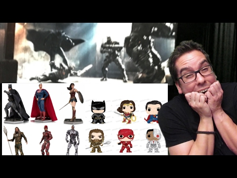 Zack Snyder Posts Batman Justice League Screenshot and New Justice League Toys Revealed!
