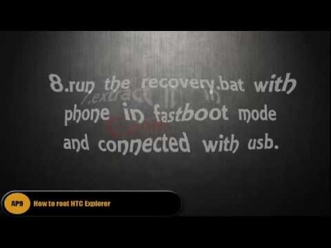 How to root HTC Explorer / tested