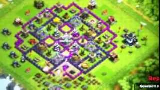 Clash of clans - analisando vilas do clan