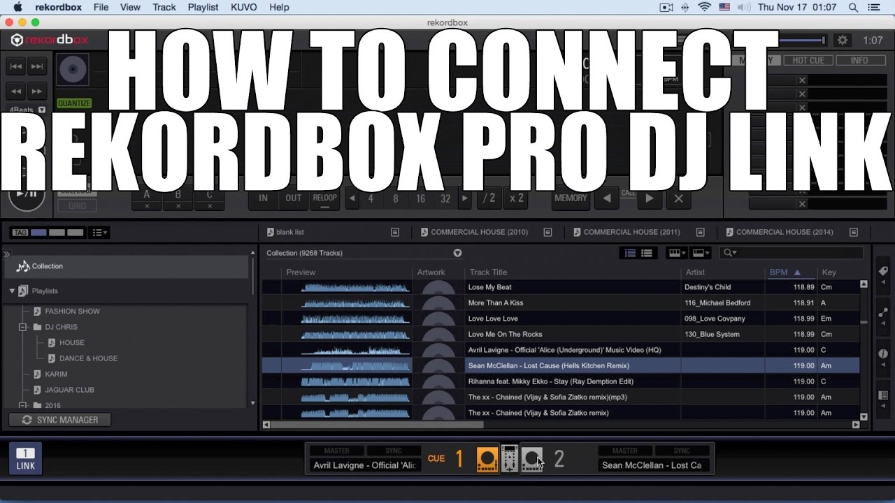 How to connect REKORDBOX (WIFI)