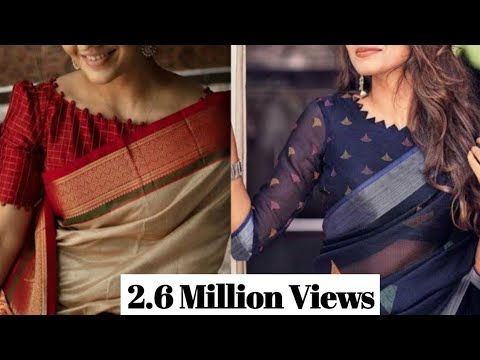 New Model Simple And Sober Blouse Designs || Latest Boat Neck Blouse Designs || Fresh Blouse Design