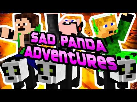 Minecraft - Sad Panda Adventures [SZONTYOLA PANDÁK :(]