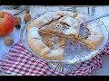 Rustični kolač s jabukama i orasima - Posni kolač