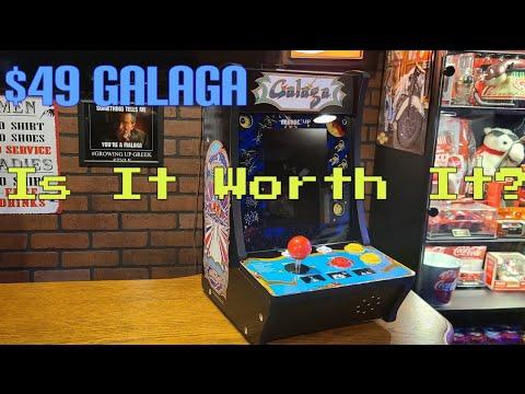 Arcade1up Galaga Bartop Unit from Kazelas Arcade