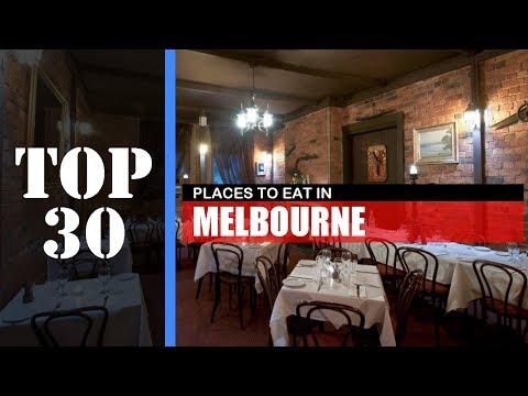 TOP 30 MELBOURNE Best Places To Eat | Restaurant, Bar, Street Food Etc