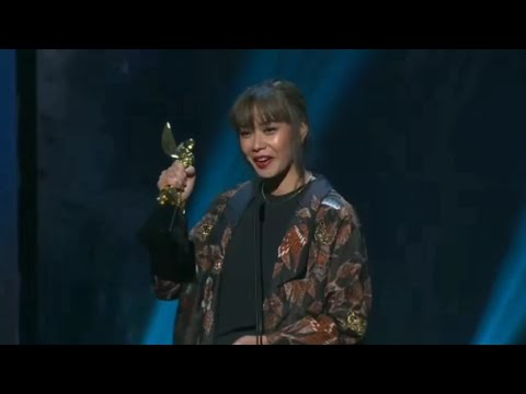 Adinia Wirasti - Best Actress in a Leading Role (Critical Eleven) Asian Academy Creative Awards 2018