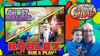 Roblox LIVE 👻🏰 Ghost Simulator & Treasure Quest