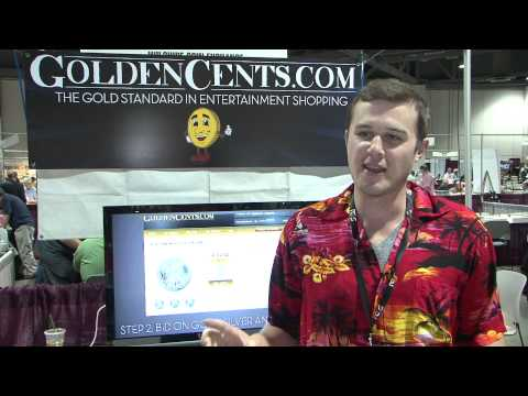 GoldenCents.com Internet Coin Auction Announced at Long Beach Expo