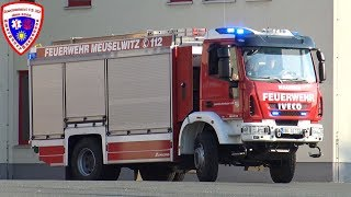 🚨 TLF 3000 + ELW Feuerwehr Meuselwitz
