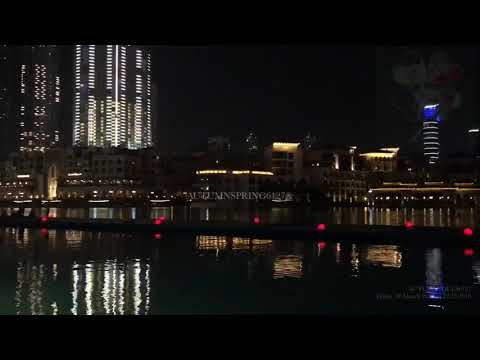EXO POWER @ Dubai Fountain