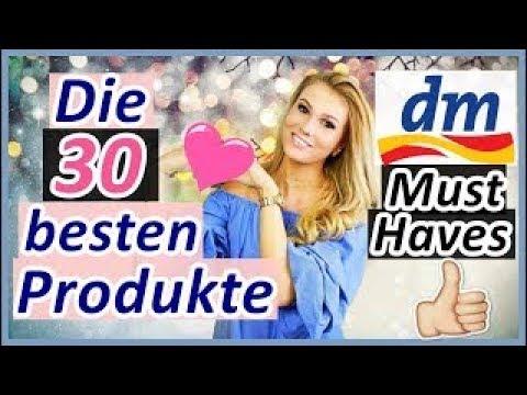 Die BESTEN 30 dm PRODUKTE I COUNTDOWN I DM MUST-HAVES