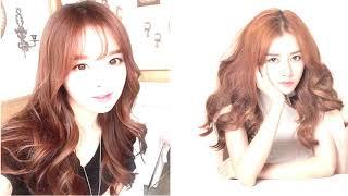 màu tóc đẹp cá tính ở Hoan Ruby