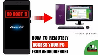 How to Remotely Access Your PC From Phone | Splashtop