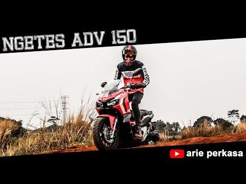 Test Motor ADV150 Dijalanan Tanah !!