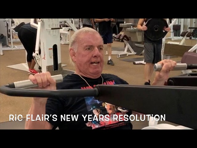Ric Flair's New Years Resolution