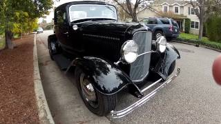 "1932 Ford 3 Window Coupe ""Henry Steel"" Walk Around Running HD"