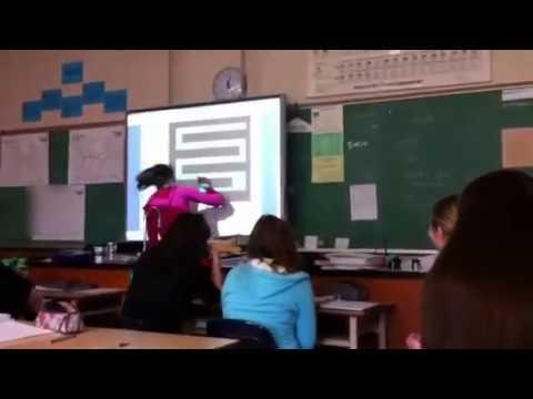 Scary Maze Prank in Biology Class