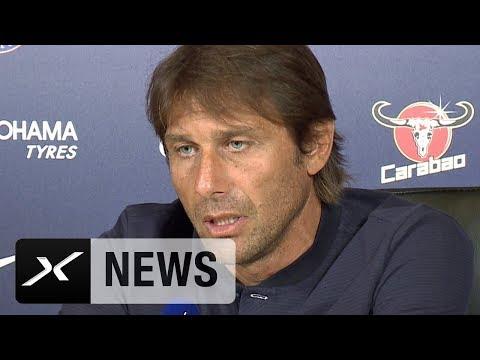 "Antonio Conte: ""Konkurrenz wird gegen uns 120 Prozent geben"" | FC Chelsea - Burnley | Premier League"