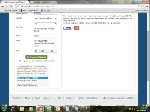 How To Apply LIC Policy Online