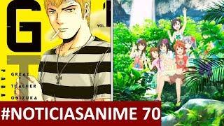 CONTACTO ANIME Noticias #70 | Aggretsuko 2 | GTO: Paradise Lost | Non Non Biyori 3