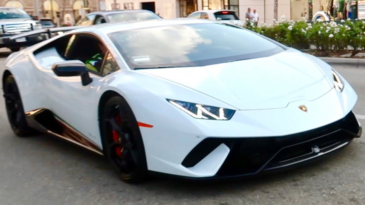 first ever lamborghini huracan performante spotted in california 2017 youtube. Black Bedroom Furniture Sets. Home Design Ideas