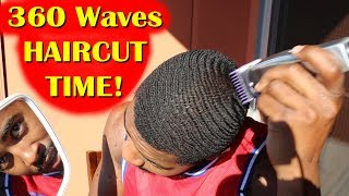 360 Waves - Fresh Self Haircut Time!