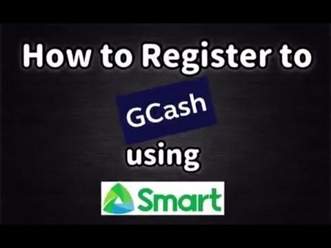 How to Register GCASH using SMART Sim - ELEINEzClips