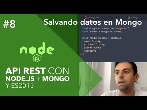 Cómo Almacenar Datos En MongoDB Con HTTP POST En Tu API | Curso NodeJS Y MongoDB #08