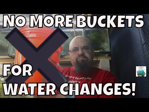 Easy Aquarium Water Change! WITHOUT BUCKETS!!