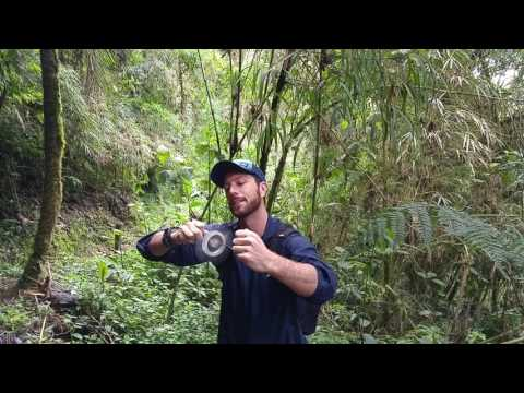 Hand-Powered Centrifuge in the Rainforest