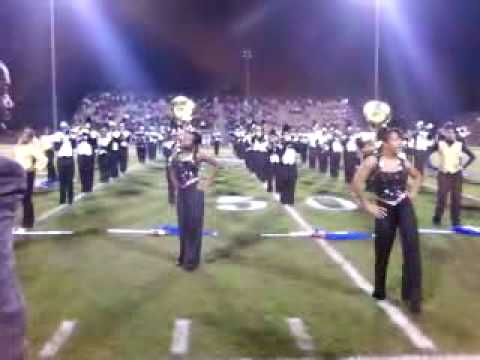 Manning High School Band PLaying Coming To AMerica & Ego AT HalfTime