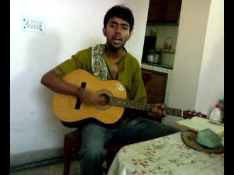 Prithibita Naki (Bengali Version Of Bheegi Bheegi) On Guitar With Chords