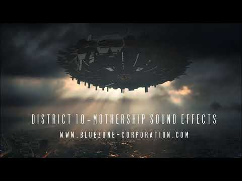 District 10 Mothership Sound Effects - Spacecraft, Hud Interface, Organic Ambiences and More