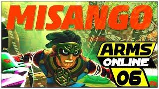 ARMS Online Part 6: VERSION 4.0 & MISANGO, der NEUE Kämpfer auf der Tempelanlage thumbnail