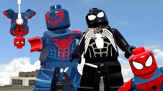 НОВЫЕ ПАУЧКИ в LEGO Marvel's Avengers!