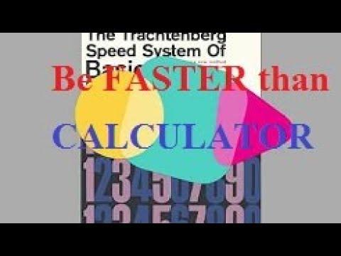 Trachtenberg Speed Math Pdf