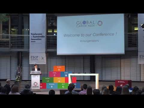 ESCP EUROPE: CONFERENCE FOR SUSTAINABLE INNOVATION - DESIGNING TOMORROW (2018)