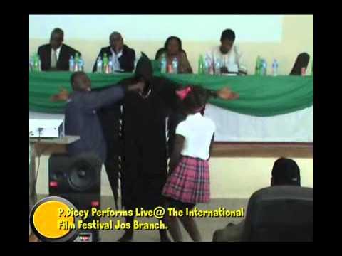 International Film Festival Jos Nigeria P.Dicey Live performance