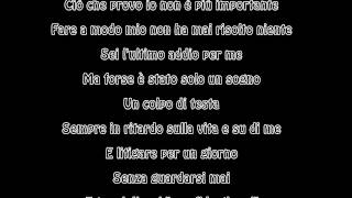 Download Annalisa - L'ultimo addio Testo (Lyric ) MP3 song and Music Video