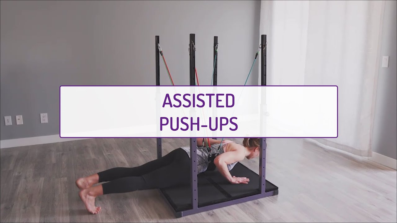 Home Exercises | Assisted Push-Ups | Strength & Foundation | Full Body