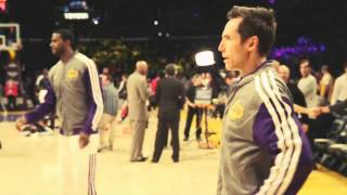 Novak Djokovic upoznaje Kobija Brajanta,LA Lakers