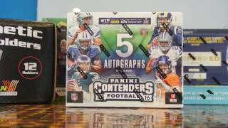 2016 Contenders Football Hobby Box Break Review