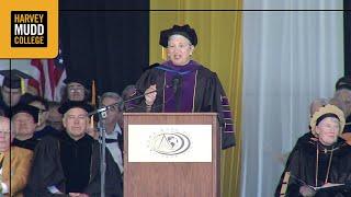 Mary Nichols keynote address at Harvey Mudd Commencement 2015