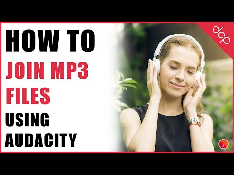 Merge Mp3 files into one using Audacity 2.8 - DCP Web Designers Tutorial