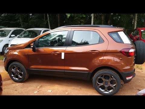 New Ford EcoSport with Fun Roof - Titanium S Sports Edition !!
